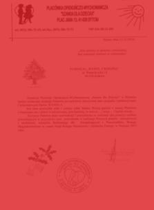 """Placówka Opiekuńczo-Wychowawcza """"Szansa dla Dziecka"""""""