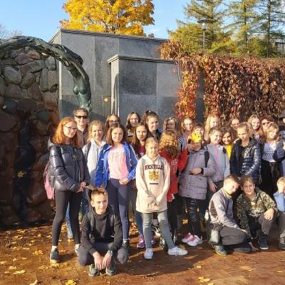 Wyjazd uczniów do Wilna