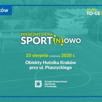 """""""Połączmy się na sport(n)owo"""" w Krakowie"""
