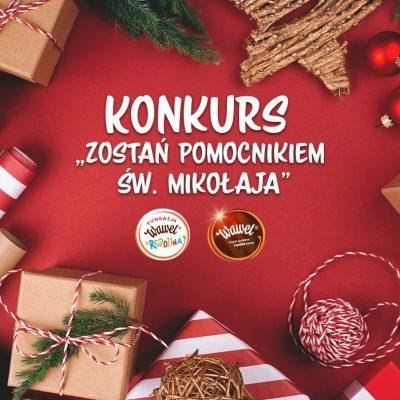 """KONKURS """"Zostań Pomocnikiem św. Mikołaja"""""""