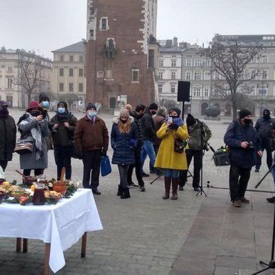 Wigilia dla bezdomnych i potrzebujących Jana Kościuszki
